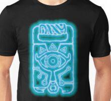 Breath of the Wild Sheikah Slate(Blue Glow) Unisex T-Shirt