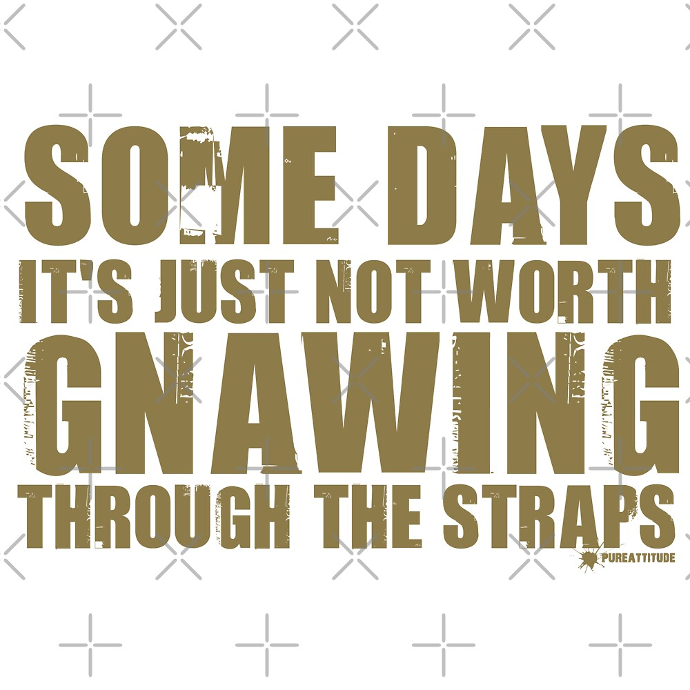 Gnawing Through The Straps by Sally McLean