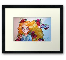 For my Ma (Mother's Day Card) Framed Print