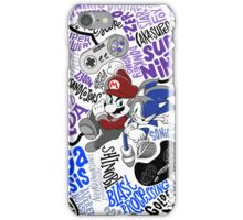 Console Wars 1991-95 iPhone Case/Skin