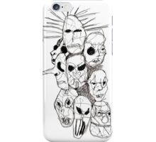 Slipknot Continuous Line iPhone Case/Skin