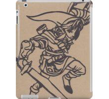 Link Papercraft iPad Case/Skin