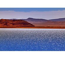 Pyramid Lake in the Wind Photographic Print