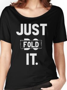 Just fold it Women's Relaxed Fit T-Shirt