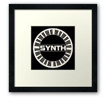 Synth Ring Framed Print