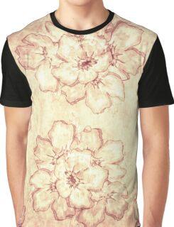 Vintage Pattern Graphic T-Shirt
