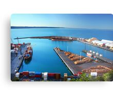 Napier Port, NZ Metal Print