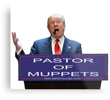 Pastor of Muppets Metal Print