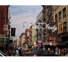 Little Italy New York Photographic Print