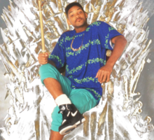 Game of homes - Will Smith, fresh prince of Bel-Air Sticker
