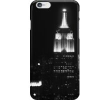 Empire state building B/W iPhone Case/Skin