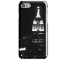 Empire state building B/W iPhone Case/Skin