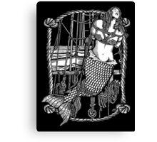 Bound Mermaid Canvas Print