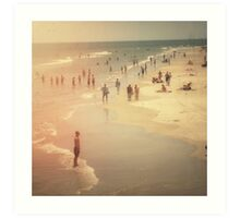 Summer Beach Day Art Print