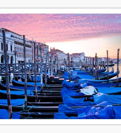 Sunrise in Venice I Sticker
