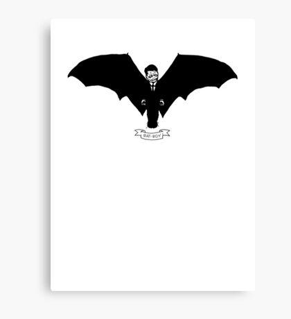 Bat-Boy Canvas Print
