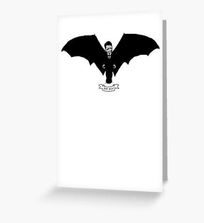 Bat-Boy Greeting Card
