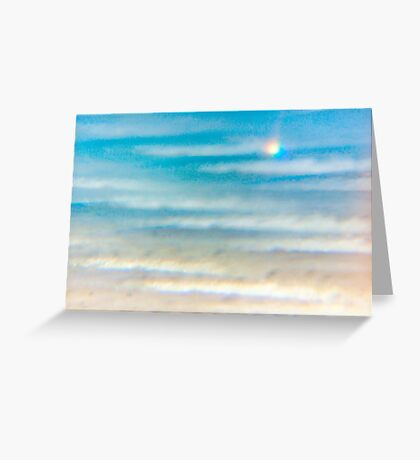 Unusual seascape Greeting Card