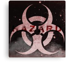 HAZARD Logo Canvas Print