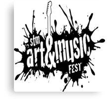 Art And Music Fest Canvas Print
