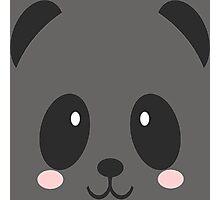 Face Panda Photographic Print