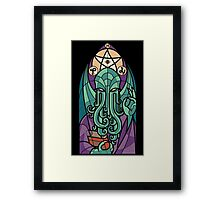 Cthulhu The Father Framed Print