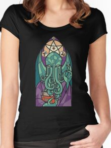 Cthulhu The Father Women's Fitted Scoop T-Shirt