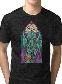 Cthulhu The Father Tri-blend T-Shirt