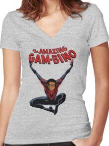 The Amazing Childish Gambino  Women's Fitted V-Neck T-Shirt
