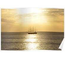 Caribbean Sunsets Poster