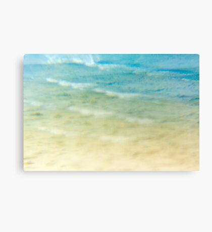 Beautiful sea Canvas Print