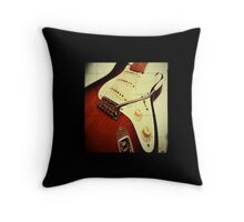 Fender Stratocaster Throw Pillow