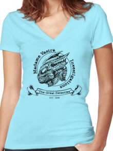 The Great Detective Women's Fitted V-Neck T-Shirt
