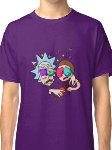 Rick And Morty Drunk Classic T-Shirt