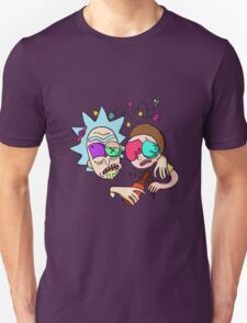 Rick And Morty Drunk Unisex T-Shirt