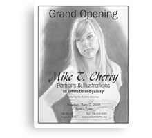 Grand Opening Show Canvas Print