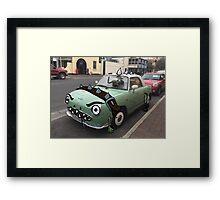 Monster Car Framed Print