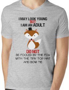 I AM AN ADULT !? Mens V-Neck T-Shirt