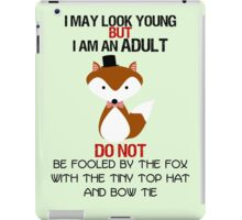 I AM AN ADULT !? iPad Case/Skin