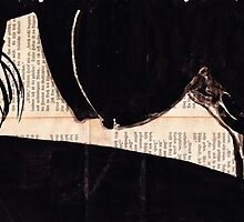 Nude HQ-Foto of my original ink drawing - Art. Palluch by Palluch Atelier