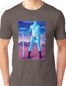 "Frightened Little Boys Rule the World, original acrylic on canvas, 60""x42"" Unisex T-Shirt"