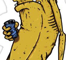 Grumpy Banana  Sticker