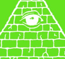 Illuminati Defense League - Killer Of Elites Sticker