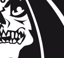 Death hooded halloween Sticker