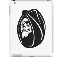 Death hooded halloween iPad Case/Skin