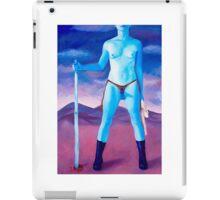 "Frightened Little Boys Rule the World, original acrylic on canvas, 60""x42"" iPad Case/Skin"