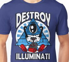 Destroy The Illuminati Unisex T-Shirt