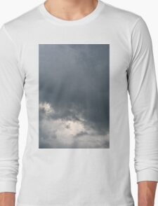Fluffy stormy clouds. Long Sleeve T-Shirt