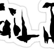Tail Jar Sticker Sticker
