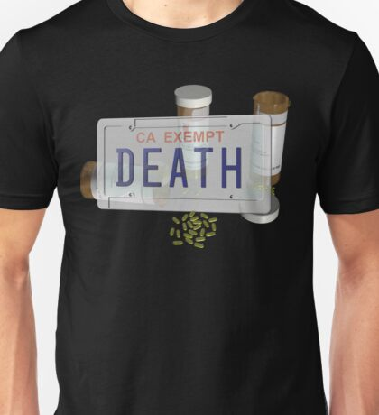 government plates with pills Unisex T-Shirt